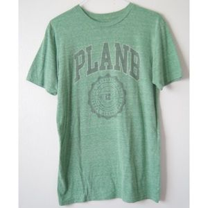 RARE PLAN B HEATHER GREEN GRAPHIC TSHIRT